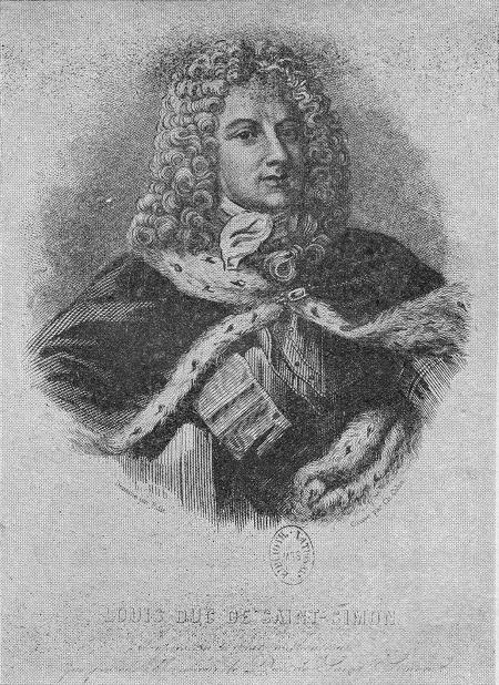 Louis de Rouvroy, duc de Saint-Simon Biographie de Louis de Rouvroy duc de SaintSimon